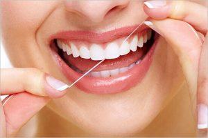 牙線使用方法
